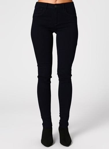 Only Only Skinny Lacivert Denim Pantolon Mavi
